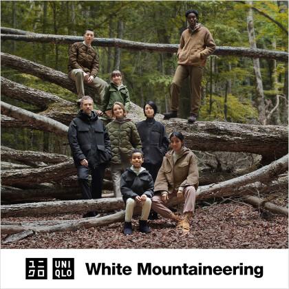 初コラボレーション  UNIQLO and White Mountaineering 10月15日(金)発売