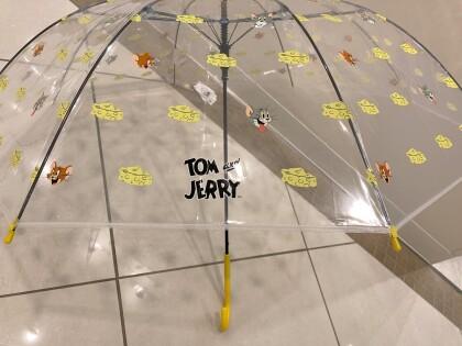 トムとジェリーデザイン 傘入荷♫