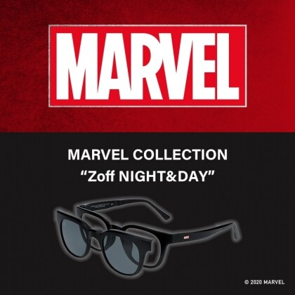 "【Zoff】MARVEL COLLECTION""Zoff NIGHT&DAY"""