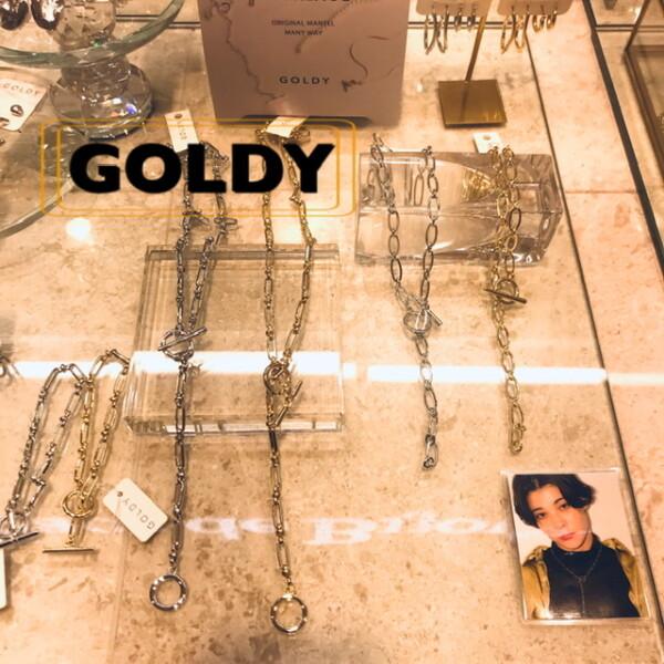 《GOLDY》新作入荷!!!