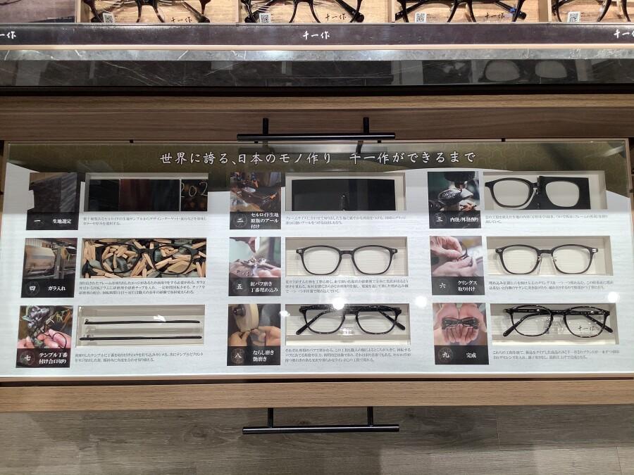 【福井県産/鯖江市製造】〜千一作〜眼鏡